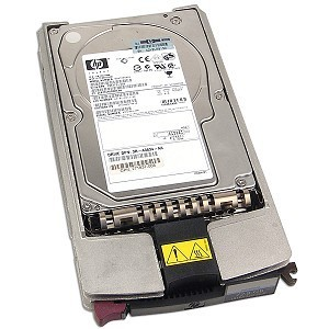 238926-001, Жесткий диск HP 72GB hot-swap dual-port Fiber Channel (FC) hard drive - 10,000 rpm, 1.0 inch high