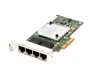 593743-001 Сетевая карта HP 593743-001 HP NC365T 4-port Ethernet Server Adapter